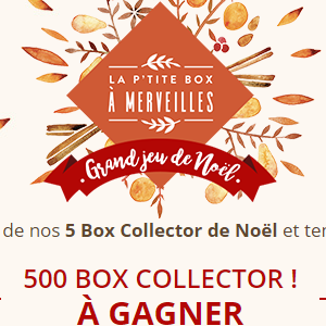 300 box collector Yves Rocher à gagner